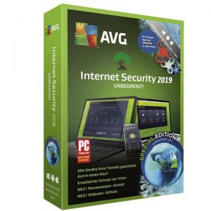 licenta antivirus AVG Internet Security 2020 - 1 PC 1 Year