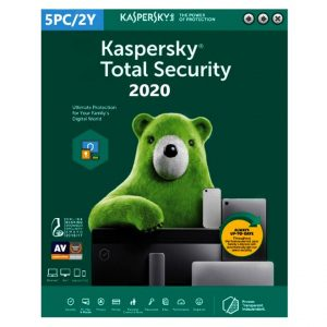 Kaspersky Total Security 2020 - 5 Devices MD 2 Year EU