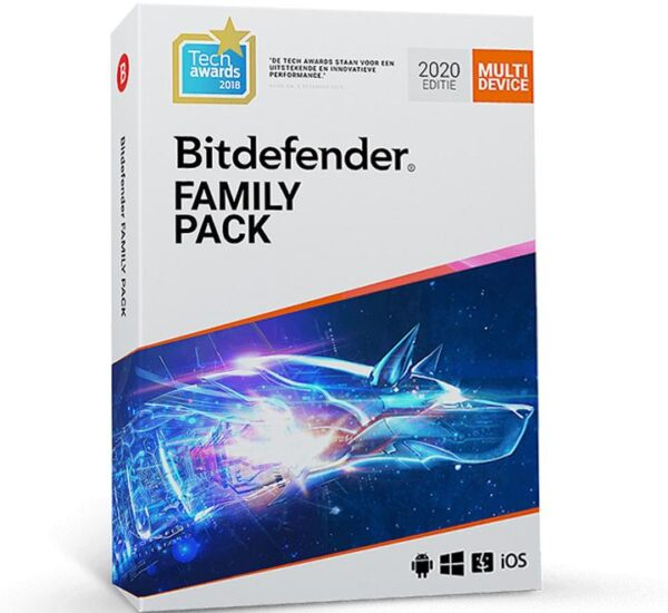 Bitdefender Family Pack Total Security 15 dispozitive PC Mac Android IOS